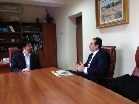 with jewish head in almatyn